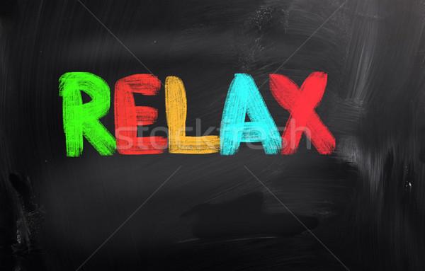 Relax Concept Stock photo © KrasimiraNevenova