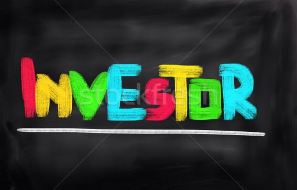 Investor Concept Stock photo © KrasimiraNevenova