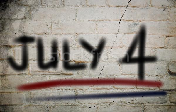счастливым фон ретро свободу стране Сток-фото © KrasimiraNevenova