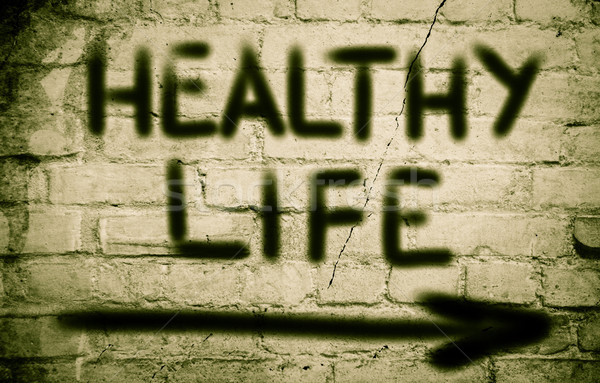 Healthy Life Concept Stock photo © KrasimiraNevenova