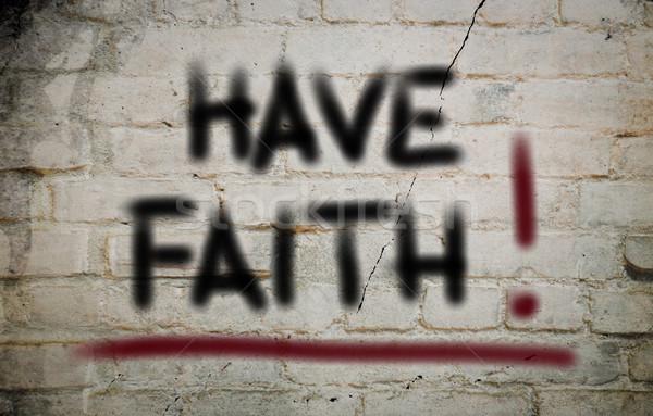 веры дизайна крест массаж власти мира Сток-фото © KrasimiraNevenova