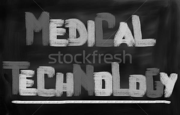 Medical Concept Stock photo © KrasimiraNevenova