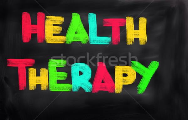 Health Therapy Concept Stock photo © KrasimiraNevenova