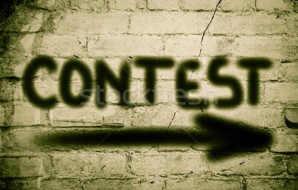 Contest Concept Stock photo © KrasimiraNevenova