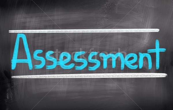 Assessment Concept Stock photo © KrasimiraNevenova
