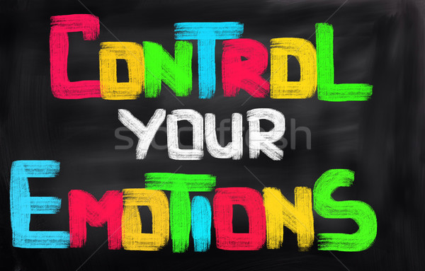 Control Your Emotions Concept Stock photo © KrasimiraNevenova