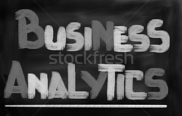 Business Analytics Concept Stock photo © KrasimiraNevenova