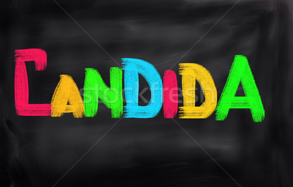 Stock photo: Candida Concept