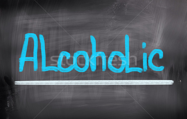 Stock photo: Alcoholic Concept