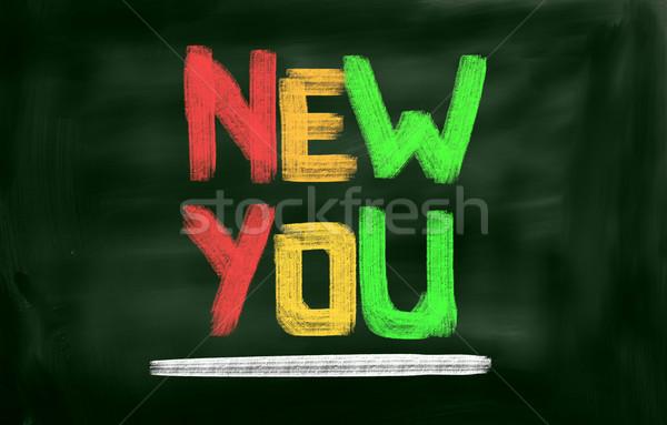 New You Concept Stock photo © KrasimiraNevenova