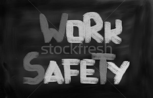 ストックフォト: 作業 · 安全 · 建設 · ワーカー · 産業 · アーキテクチャ