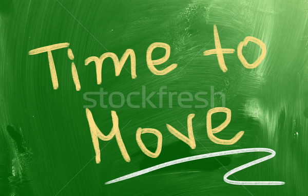 Time To Move Concept Stock photo © KrasimiraNevenova