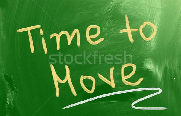 時間 移動 ビジネス 作業 旅行 通信 ストックフォト © KrasimiraNevenova