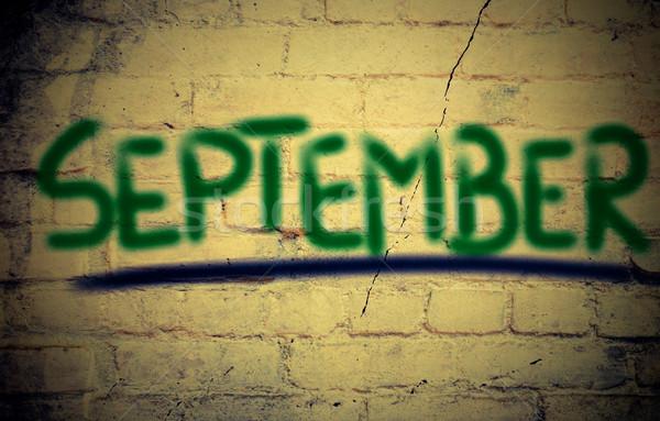 September Concept Stock photo © KrasimiraNevenova