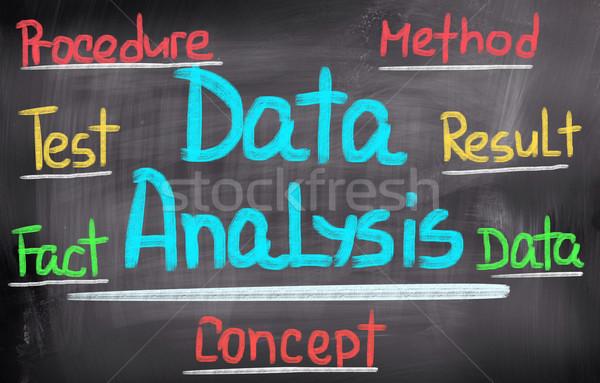 データ 分析 教育 業界 マーケティング グラフ ストックフォト © KrasimiraNevenova