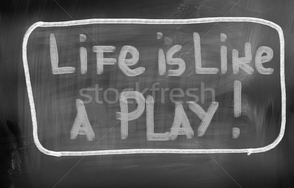 Life Concept Stock photo © KrasimiraNevenova