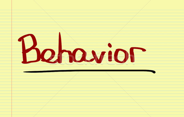 Behavior Concept Stock photo © KrasimiraNevenova
