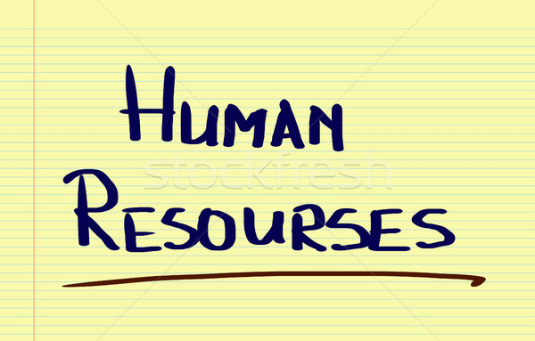Human Resources Concept Stock photo © KrasimiraNevenova