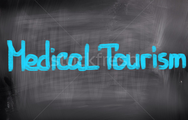 Medical Tourism Concept Stock photo © KrasimiraNevenova