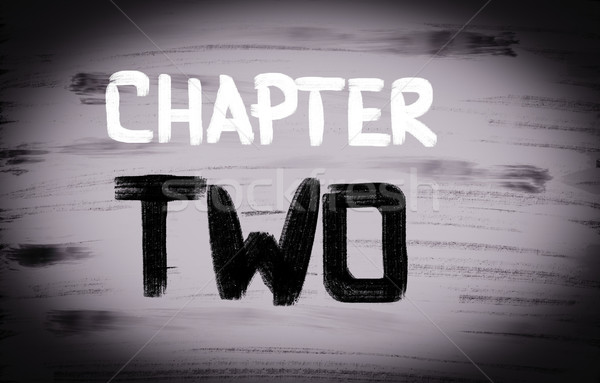 Stock photo: Chapter Concept
