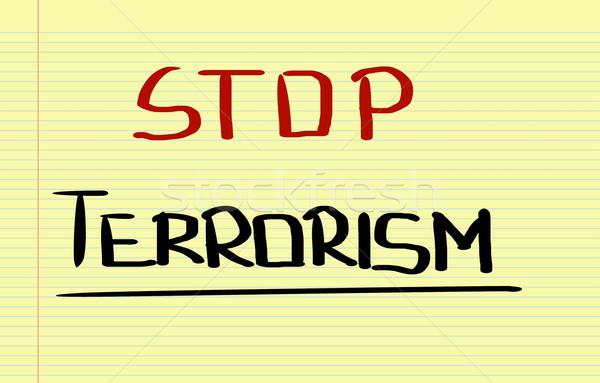 Durdurmak terörizm güvenlik ölüm takım hedef Stok fotoğraf © KrasimiraNevenova