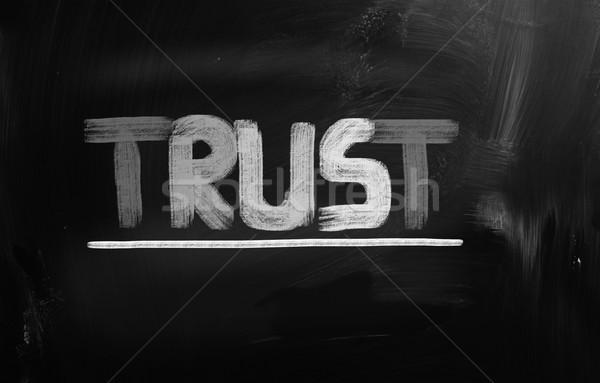 доверия успех профессиональных человека управления построить Сток-фото © KrasimiraNevenova