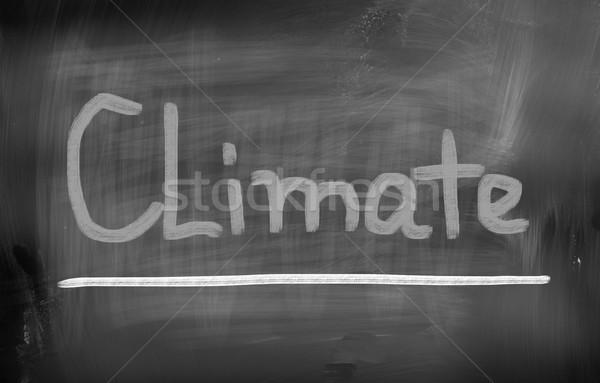 Climate Change Concept Stock photo © KrasimiraNevenova