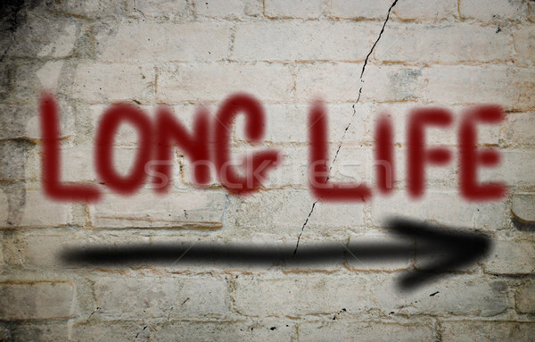 Stock photo: Long Life Concept