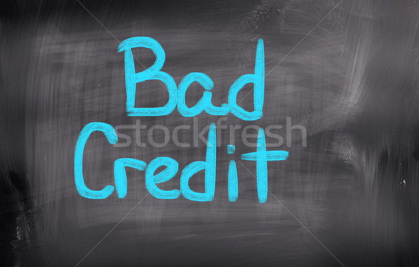 Bad Credit Concept Stock photo © KrasimiraNevenova