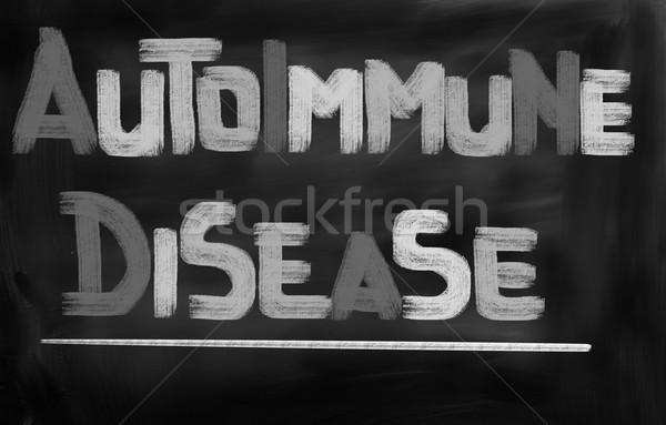 Doença abstrato médico medicina conceito saudável Foto stock © KrasimiraNevenova