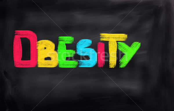Fettleibigkeit Gesundheit Ausübung Erfolg Essen Person Stock foto © KrasimiraNevenova