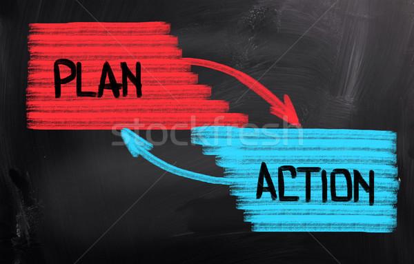 Plan Concept Stock photo © KrasimiraNevenova