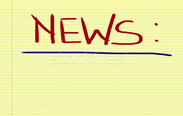News Concept Stock photo © KrasimiraNevenova