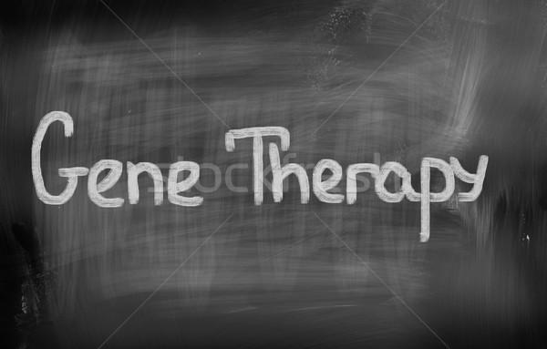 Gene terapia médico medicina química célula Foto stock © KrasimiraNevenova
