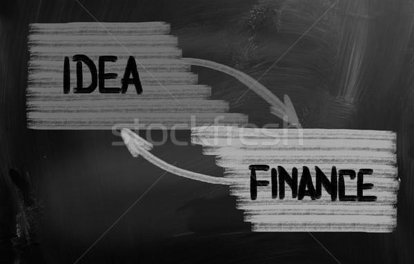 Idee achtergrond industrie fabriek markt bedrijf Stockfoto © KrasimiraNevenova