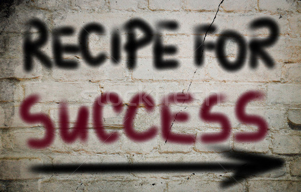 Recipe For Success Concept Stock photo © KrasimiraNevenova