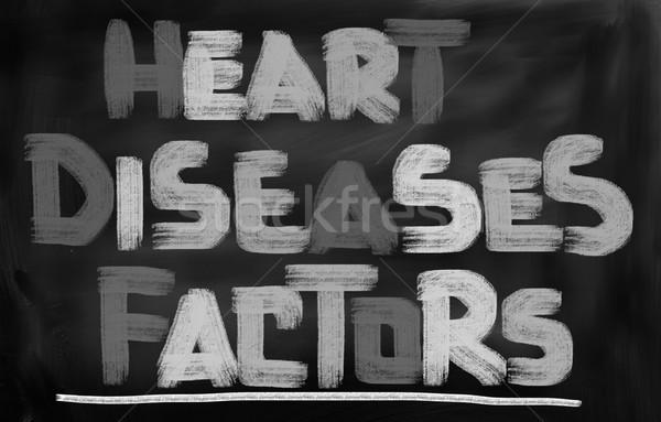 Heart Disease Concept Stock photo © KrasimiraNevenova