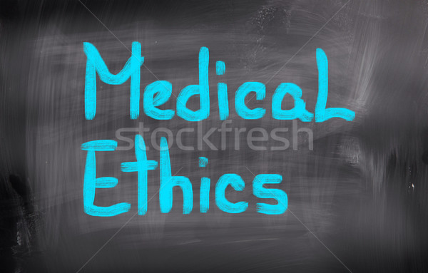 Medical Ethics Concept Stock photo © KrasimiraNevenova