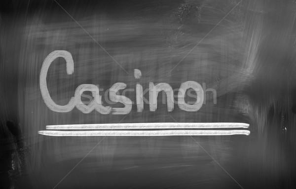 Casino fondo signo éxito jugar chip Foto stock © KrasimiraNevenova