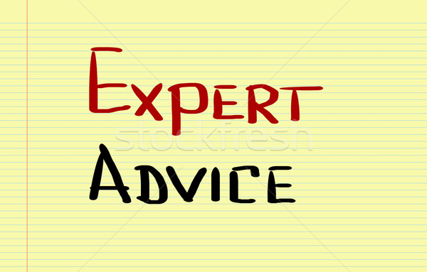 Expert Advice Concept Stock photo © KrasimiraNevenova