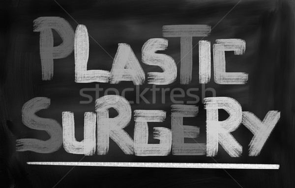 Plastic Surgery Concept Stock photo © KrasimiraNevenova