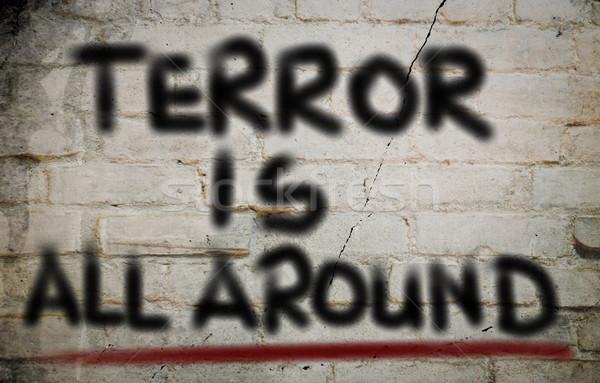 No terrore sicurezza morte squadra target Foto d'archivio © KrasimiraNevenova
