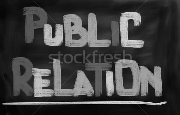 Public Relations Concept Stock photo © KrasimiraNevenova