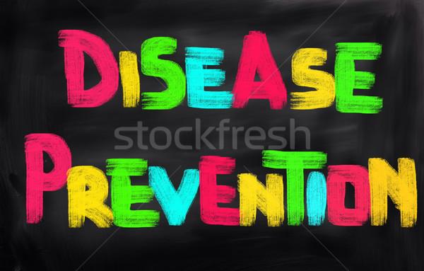 Malattia prevenzione salute ospedale medicina esercizio Foto d'archivio © KrasimiraNevenova
