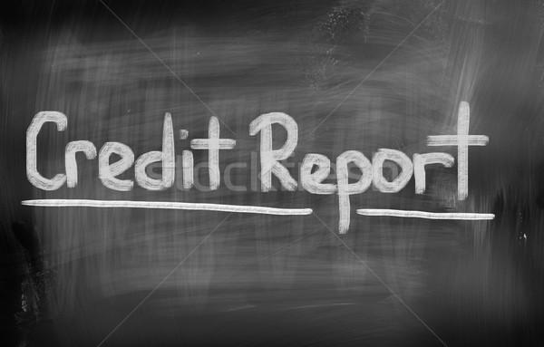 Foto stock: Crédito · relatório · fundo · financiar · sucesso · história