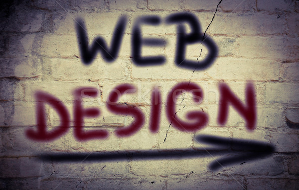 Web Design Concept Stock photo © KrasimiraNevenova