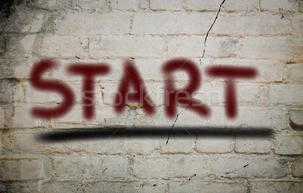 Start Concept Stock photo © KrasimiraNevenova