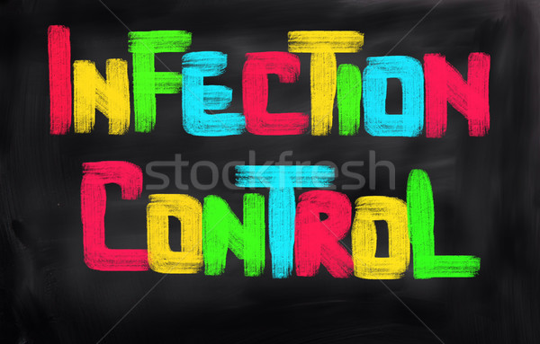 Infection Control Concept Stock photo © KrasimiraNevenova
