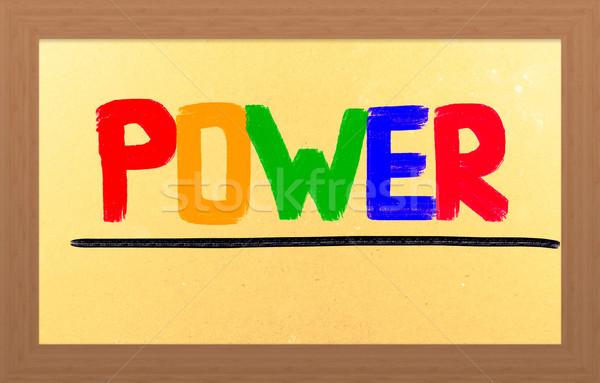 Power Concept Stock photo © KrasimiraNevenova