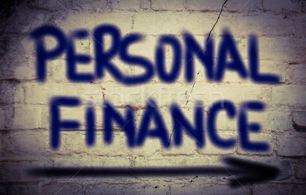 Személyes pénzügy iroda ház otthon háttér Stock fotó © KrasimiraNevenova
